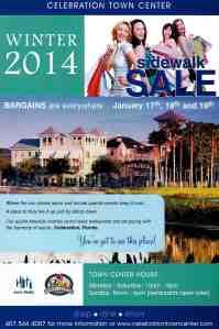 2014 sidewalk sale