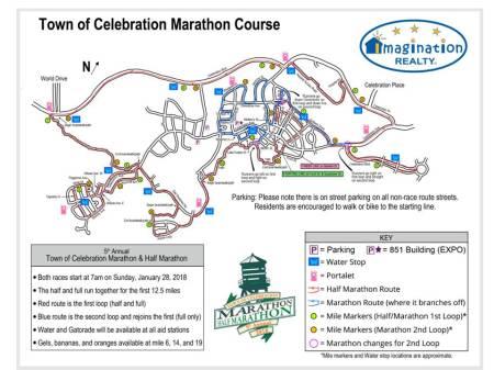 Marathon Map 2018